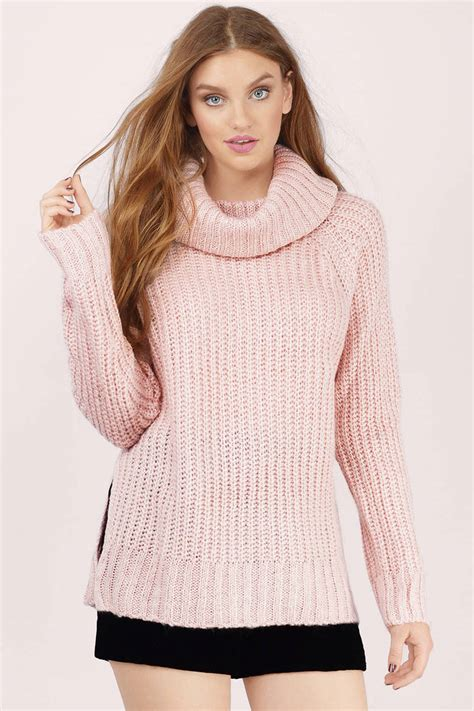 sweaters for blush sweater pink sweater knitted sweater blush top