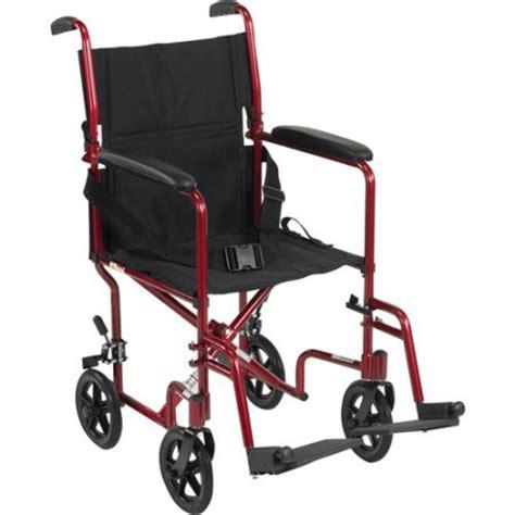 Transport Chairs Lightweight Walmart by Drive Lightweight Transport Wheelchair 19 Quot Seat