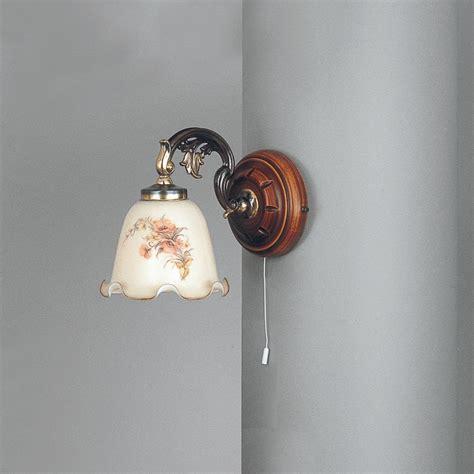 applique legno illuminazione per interni lade da parete e applique