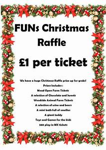 28 best prizes for christmas grand christmas raffle With christmas raffle poster templates