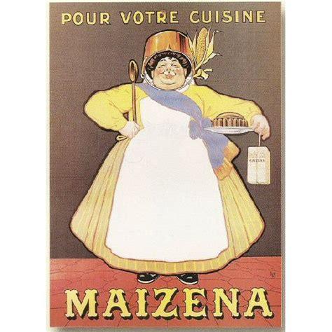 affiche cuisine retro affiche 50x70cm pub pub maizena pour votre cuisine achat
