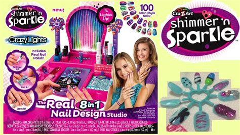 Cra-z-art Shimmer And Sparkle Crazy Lights Super Nail