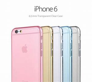 Pastel Color Soft Clear Case for iPhone 6 and iPhone 6 ...