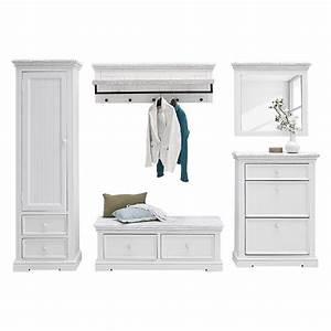 Garderoben Set Weiß Grau : garderobe kiefer massive preisvergleich die besten angebote online kaufen ~ Bigdaddyawards.com Haus und Dekorationen