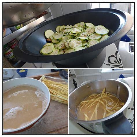 p 226 tes fra 238 ches sauce courgette et crevettes au citron version avec thermomix la guillaumette