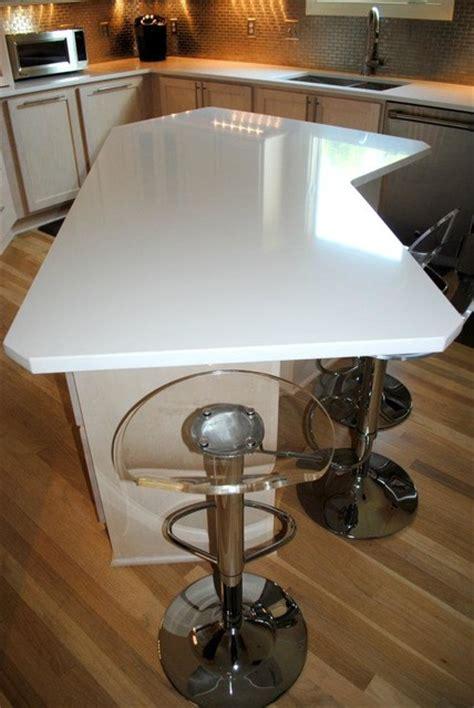 silestone quartz  white zeus contemporary kitchen