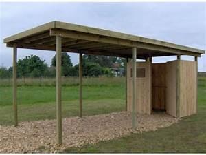 Carport Avec Abri : carport simple toit plat avec atelier id573 contact france abris ~ Melissatoandfro.com Idées de Décoration
