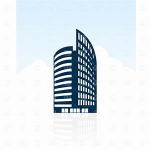 Modern building silhouette Royalty Free Vector Clip Art ...