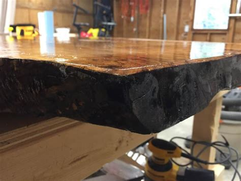 epoxy  edge wuneven surface canadian woodworking
