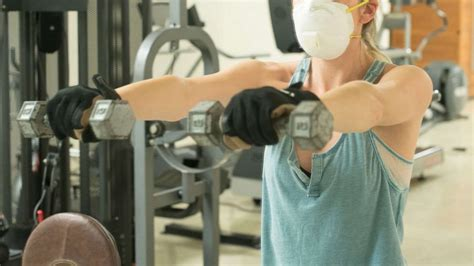 face masks gloves appointments  gyms