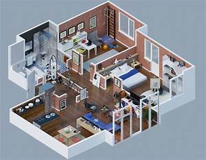 Space Saving 3d Floor Plans