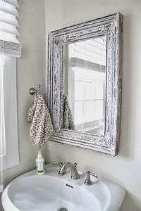 vanity mirrors for bathroom Bathroom Bliss by Rotator Rod: Small Bathroom Chic ...