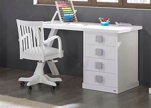 Table Enfant Avec Rangement : bureau l 150 cm avec caisson 4 tiroirs 16 couleurs ksl living ~ Melissatoandfro.com Idées de Décoration