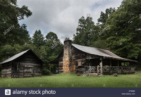 Smoky Mountain Log Cabins by Early Homestead Log Cabin In The Great Smoky Mountains