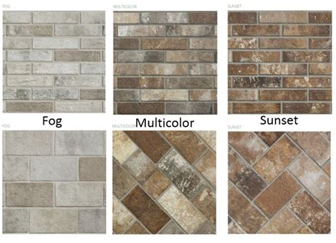 brick floor tile collection creates a timeless craftsman look the toa about tile more