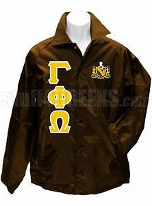 1000 images about gamma phi omega fraternity inc on With windbreaker greek letters