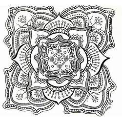 Intresting Flower Mandala Drawings Gardening Flower And Vegetables