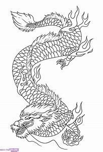 Japanese Dragon Coloring Pages | Dragon coloring page
