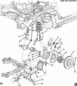 2008 Pontiac G6 Nut  Front Axle  Front Wheel Drive Axle
