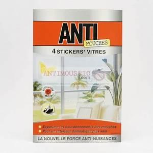 Stickers Pour Vitre : 4 stickers insecticides vitres anti mouches ~ Melissatoandfro.com Idées de Décoration