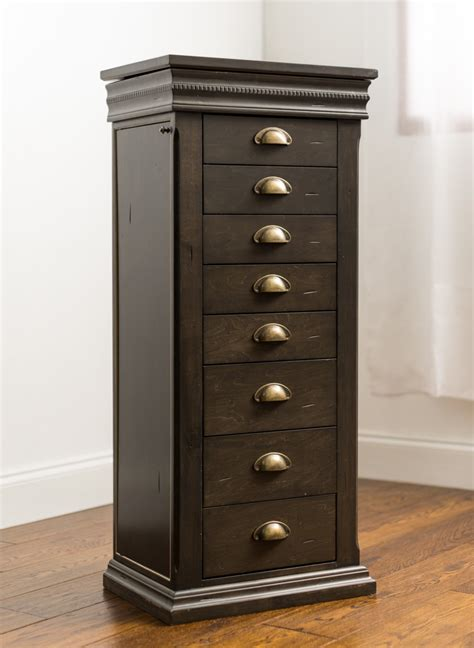 parker jewerly armoire  grey wash