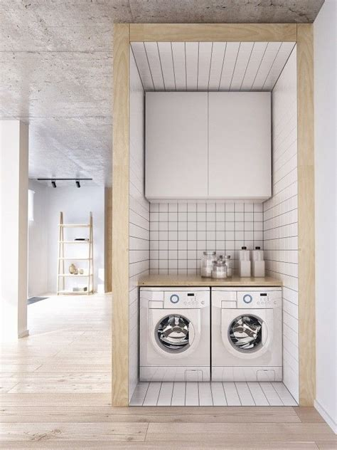 Minimalist Apartment For A Family Of Four by 25 Best Modern Laundry Rooms Ideas On
