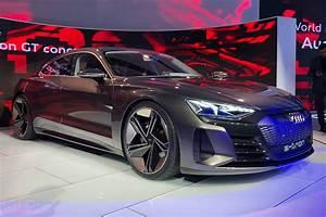Audi E Tron : new all electric audi e tron gt concept wows at la auto ~ Melissatoandfro.com Idées de Décoration