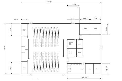 Small Church Floor Plan Designs, Simple Church Floor Plans