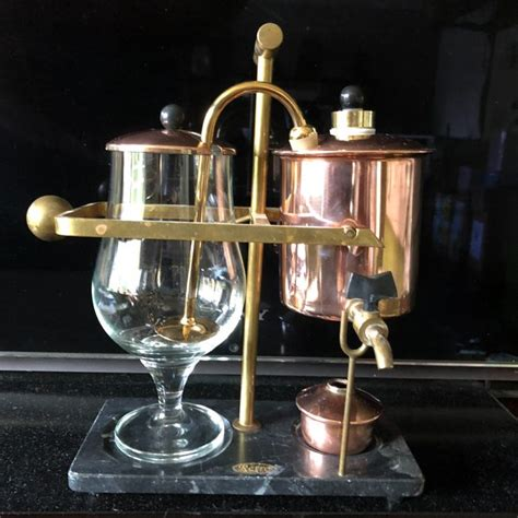 Hot promotions in balance coffee maker on aliexpress: Luxury Retro Balance coffee maker (Royal Belgian Coffeemaker) - Catawiki