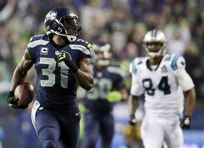 Seahawks Seattle Chancellor Kam Panthers Players Carolina