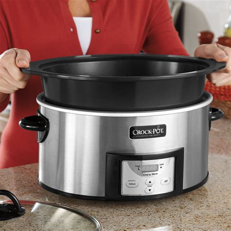 pot crock slow cooker stove stovetop cooking quart safe browning countdown cookers