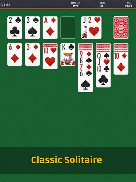 deck solitaire app solitaire on the app store