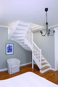 Escalier 1 4 Tournant Droit : escaliers bois authentique groupe riaux escaliers ~ Dallasstarsshop.com Idées de Décoration