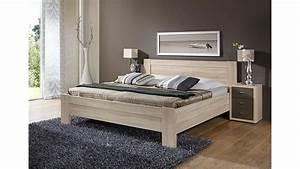 Bett Eiche Massiv 180x200 : bett donna schlafzimmerbett in eiche s gerau 180x200 cm ~ Indierocktalk.com Haus und Dekorationen