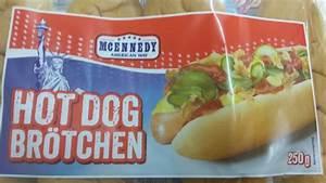 Hot Dog Brötchen : mcennedy hot dog br tchen kalorien n hrwerte informationen ~ Udekor.club Haus und Dekorationen