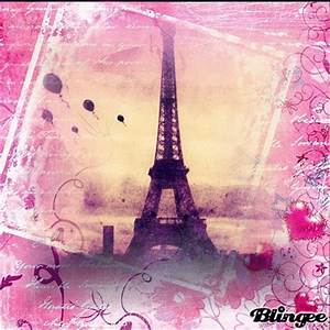 pink eiffel tower Picture #128232976 | Blingee.com
