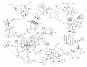 Dixon Speedztr 42  2005  Parts Diagram For Chassis