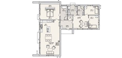 Sitting Area In Master Bedroom by Swedish Style House Plans