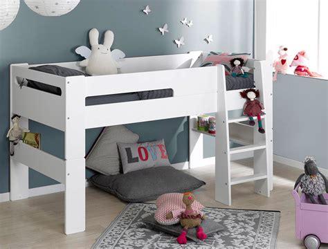 chambre avec clic clac avec le lit mezzanine enfant blanc vous pouvez