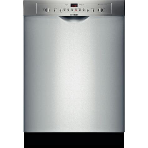 "SHE3AR75UC   Bosch Ascenta 24"" Dishwasher w/Recessed Handle"