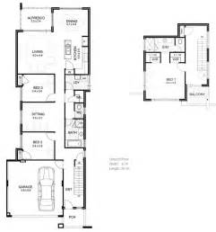 house plans for narrow lots narrow houseplans studio design gallery best design