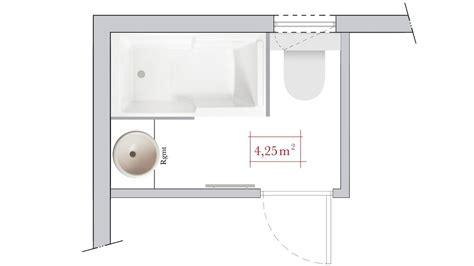 plan chambre 12m2 conseils d 39 architecte 4 plans de salle de bain rectangulaire