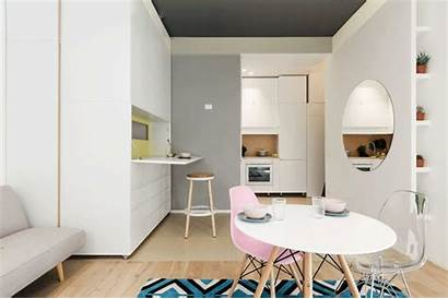 Apartment Micro Wall Interior Space Layout Functional