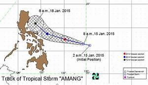 #AmangPH not likely to make landfall in PAR –PAGASA