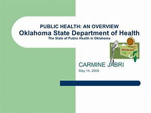 Public Health In Oklahoma