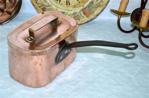 french antique daubiere braisiere copper pots pans professional cuivre ebay