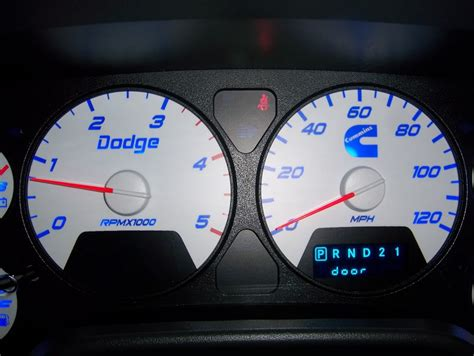 recon cab lights   gauge cluster modified