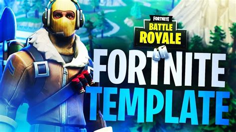fortnite thumbnail template raptor skin  youtube