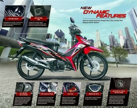 motor keren spesifikasi dan harga new honda supra x 125 fi