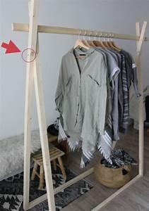 Portant Vetement Pas Cher : diy portant en bois oliyshoo diy pinterest en ~ Dailycaller-alerts.com Idées de Décoration